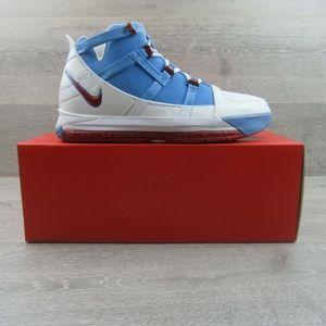 Nike Zoom LeBron 3 QS Houston Oilers Sneakers